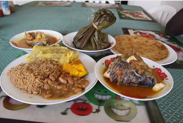блюдо из нильского окуня