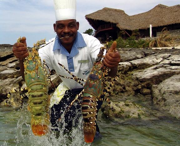 морепродукты в мапуту