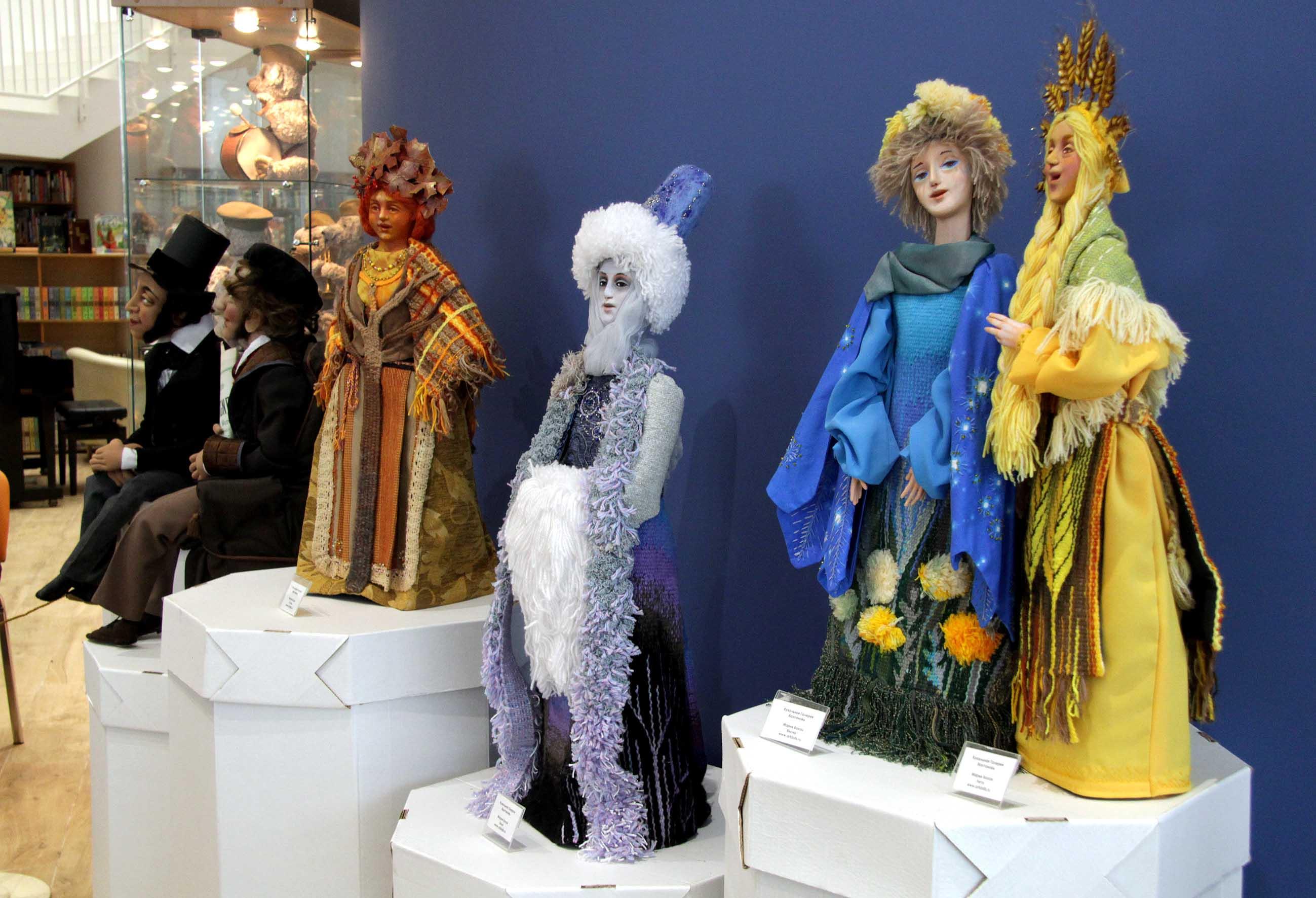 Выставка авторских кукол и мишек Тедди в Пушкино