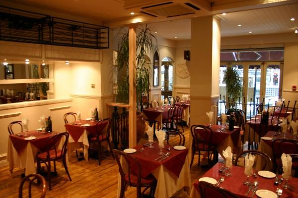 типичный ресторанчик в Пьемонте