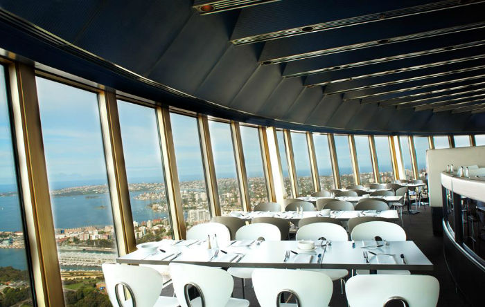 Ресторан Sydney Tower Restaurant