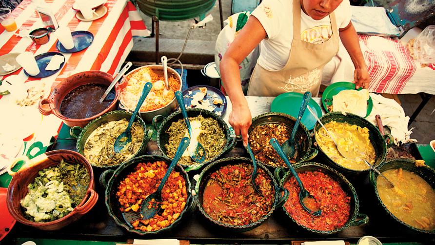 феерия мексиканских блюд